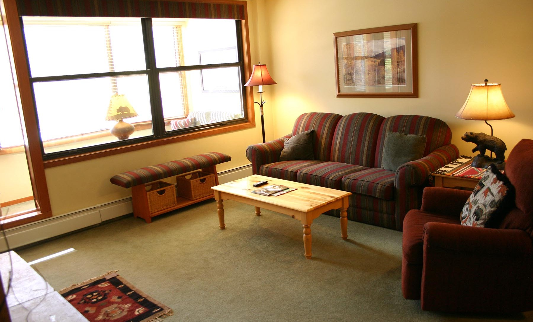 Unit 329 - Village Square Living Room